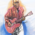 Chuck Berry by Emmanuel Baliyanga