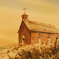 Church Manhattan Nevada by Kevin Heaney