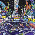 City Of Lights by Jason Gluskin