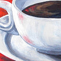 Coffee On Red by Torrie Smiley