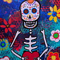 Corazon Day Of The Dead by Pristine Cartera Turkus