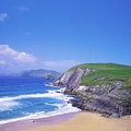 Coumeenoole Beach, Dingle Peninsula, Co by The Irish Image Collection