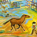 Cowboy by Maggis Art