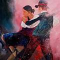 Dancing Tango by Pol Ledent