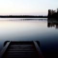 Dawn At Lynx Lake In Northern Saskatchewan by Mark Duffy