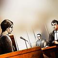 Defence Attorney Dirk Derstine At The Tori Stafford Murder Trial In London by Alex Tavshunsky