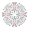 Ehrenstein Illusion by SPL and Photo Researchers