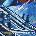 Escalator Lights by Patricia Arroyo