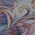 Eye Of The Swan by Marian Hebert