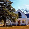 Fairhope Sacred Heart Church by Michael Thomas