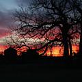 Farm Sunrise by Jim Bunstock