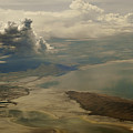 Great Salt Lake From The Air  by Gregory Colvin
