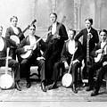 Harvard Banjo Club 1893 by John Rowe