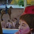 Horse Show No. 1 by Karen Thompson