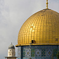 Jerusalem Dome Of The Rock  by Ohad Shahar