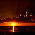 Keaton Beach Sunset by Bob Johnson