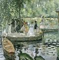 La Grenouillere by Pierre Auguste Renoir