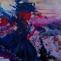 Lady Of La Mancha Dances by Penfield Hondros