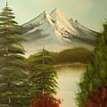 Landscape by Modern  Palette Art
