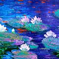 Lily Pond by Inna Montano