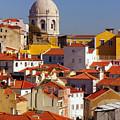 Lisbon View by Carlos Caetano