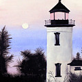 Lonesome Lighthouse by Mary Gaines