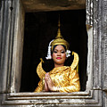 Makala Dancer In Cambodia by Michele Burgess