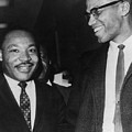 Martin Luther King Jr., And Malcolm X by Everett