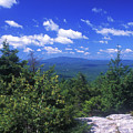 Mount Monadnock From Pack Monadnock by John Burk
