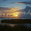 Outer Banks Sunset by Williams-Cairns Photography LLC
