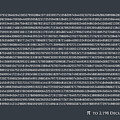 Pi To 2198 Decimal Places by Michael Tompsett