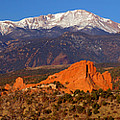 Pike's Peak And Garden Of The Gods by Jon Holiday