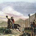Pony Express, 1867 by Granger