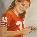 Portrait Of Ellie by Kaytee Esser