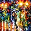 Rainy Dance by Leonid Afremov