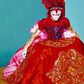 Red Dress by Vlasta Smola