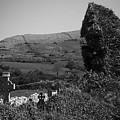 Ruins In The Burren County Clare Ireland by Teresa Mucha