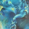 Seahorses In Love 3 by Dina Dargo