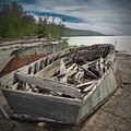 Shipwreck At Neys Provincial Park by Randall Nyhof