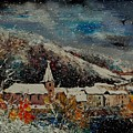Snow In Bohan by Pol Ledent