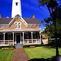St Simons Island Lighthouse by Thomas R Fletcher