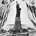 Statue Of Liberty, 1885 by Granger