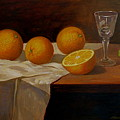 Study Of Oranges by Alan Carlson