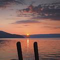 Sunrise Over Keuka V by Steven Ainsworth