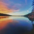 Sunset At Fallen Leaf Lake by Jacek Joniec