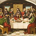 The Last Supper by Master of Portillo
