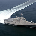 The Littoral Combat Ship Independence by Stocktrek Images