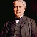 Thomas Alva Edison 1847-1931 by Everett