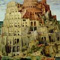 Tower Of Babel by Pieter the Elder Bruegel