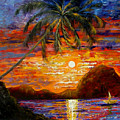 Tropical Sunset by Inna Montano